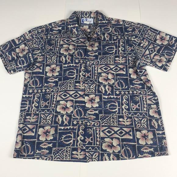 05d43bc4 rjc Shirts | Authentic Hawaiian Shirt Mens Size Large | Poshmark